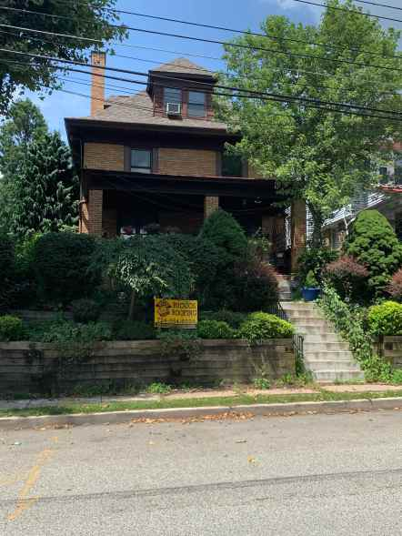 The old Downs house in the borough of Dormont, Pittsburgh